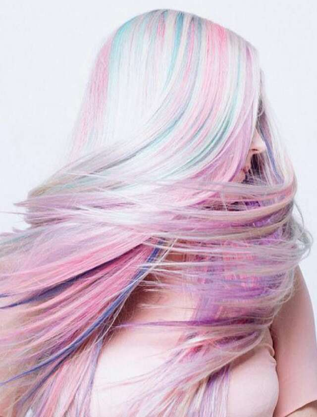 Pastel Ombre Hair!!!