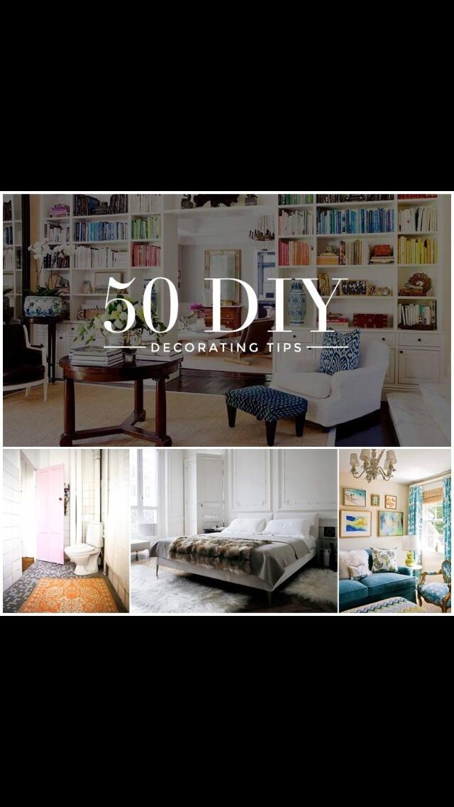 50 DIY Decorating Tips