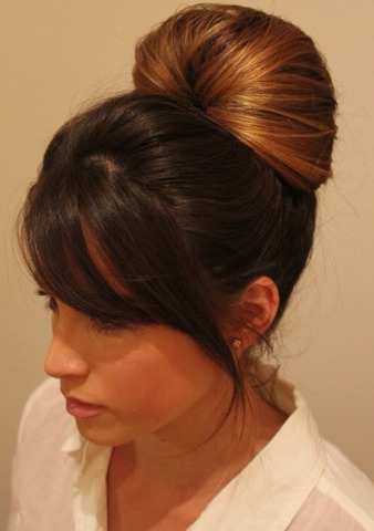 Easy Hair Up-do ( Perfect For Work )