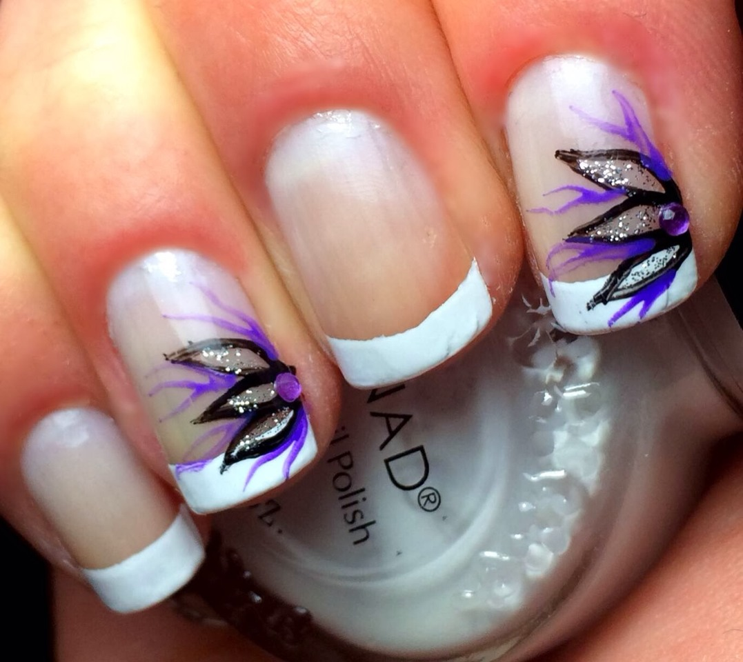 Ideas Designs And Tips For The Perfect: French Nails Perfect For Spring!