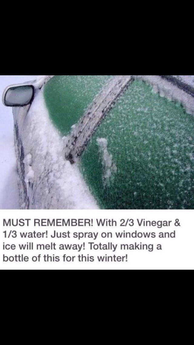Icy Windows Clean In Seconds!