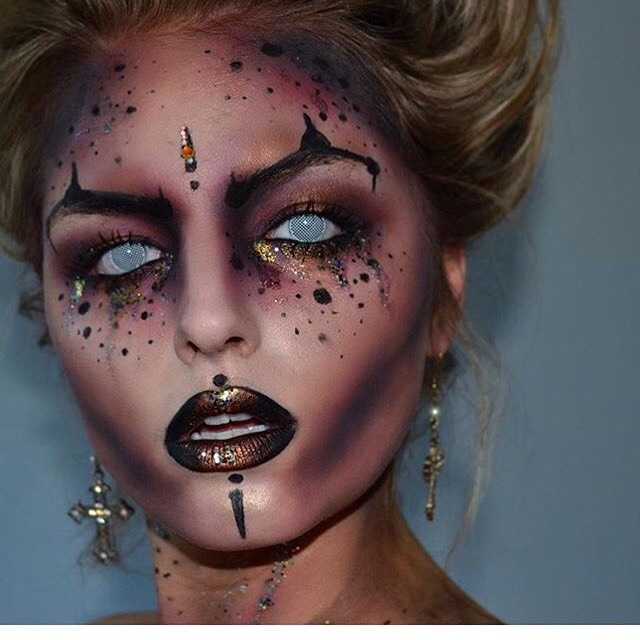 Cool Halloween Makeup Ideas Trusper - Cool Makeup Ideas