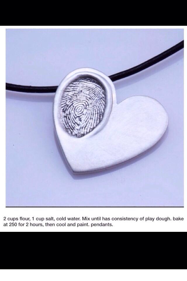 thumbprint pendants