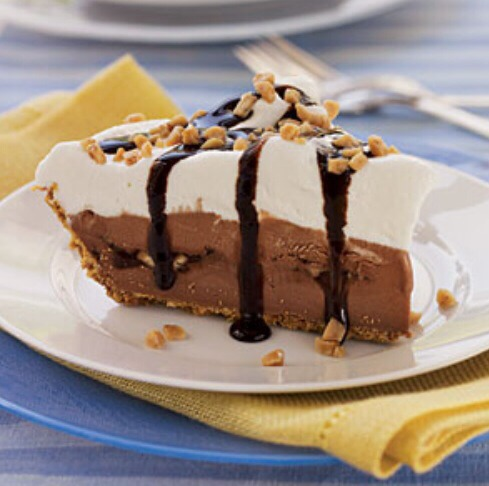 Chocolate- Toffee Ice Cream Pie😋