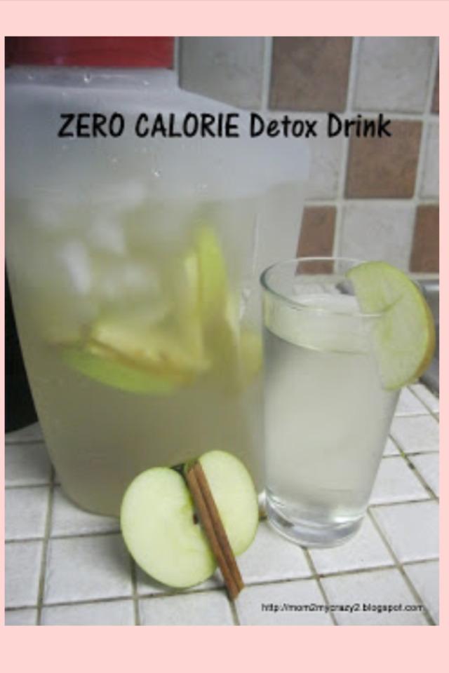 Zero calorie detox drink trusper for Cocktail 0 calorie