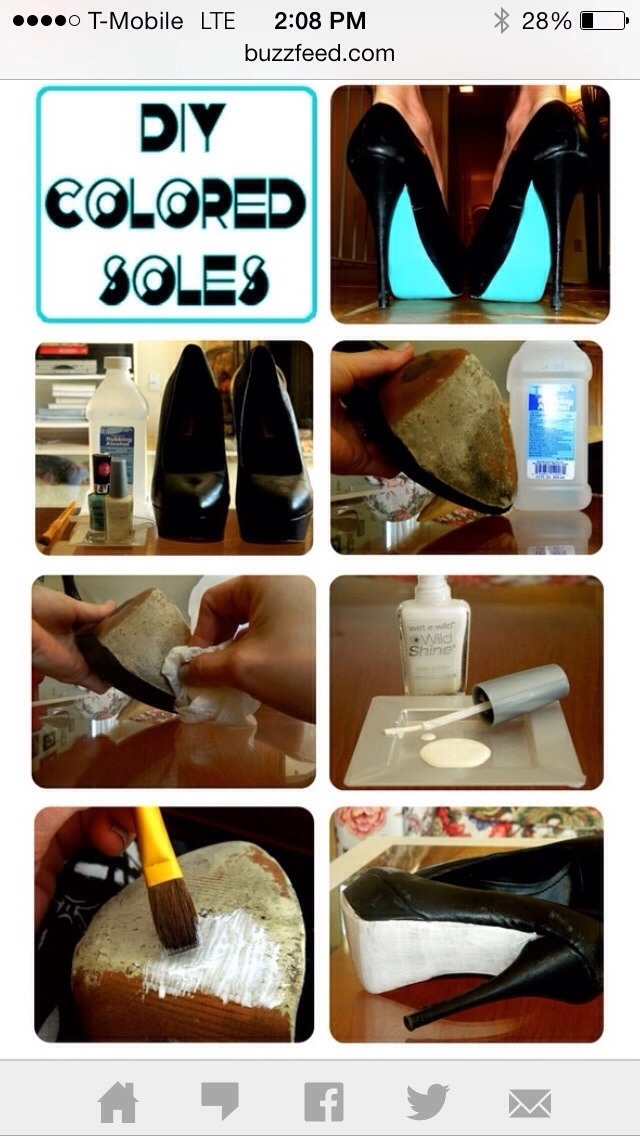 how to clean the bottom of shoes to return them