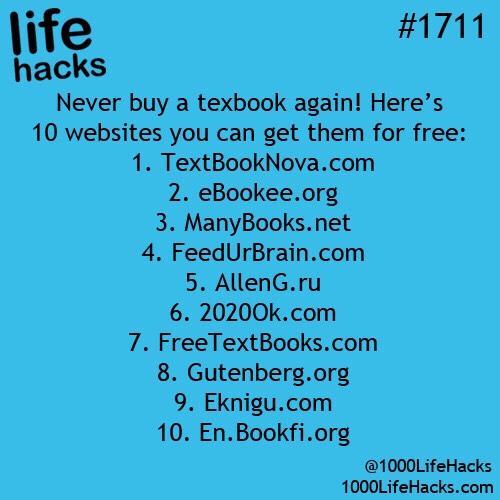10 Amazing Life Hacks