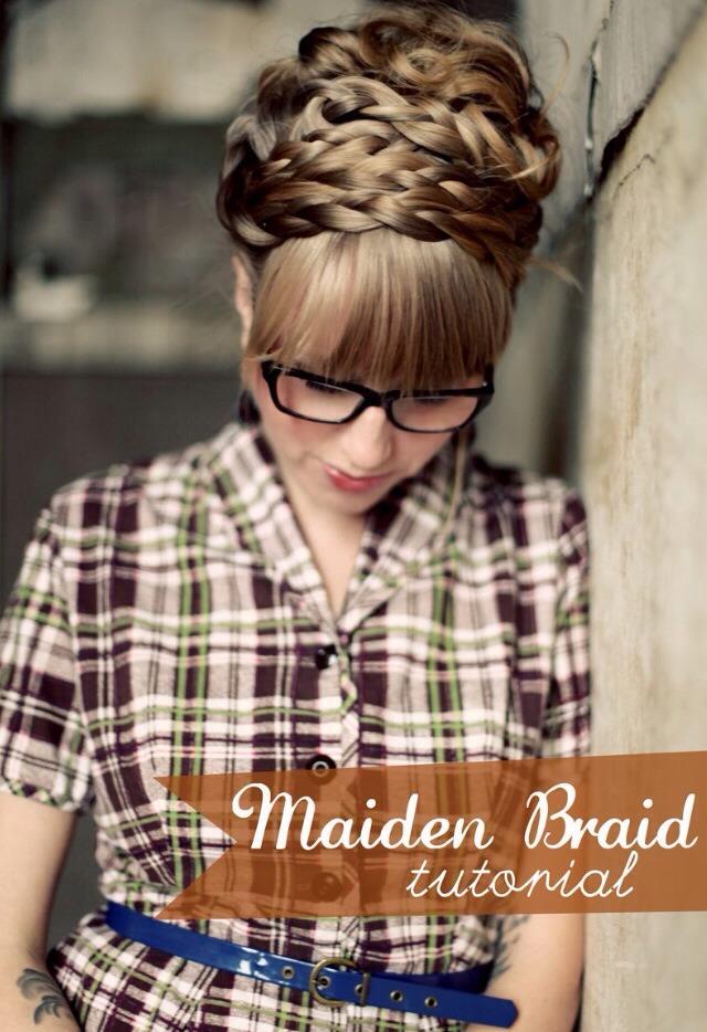 How To: Maiden Braids   Trusper