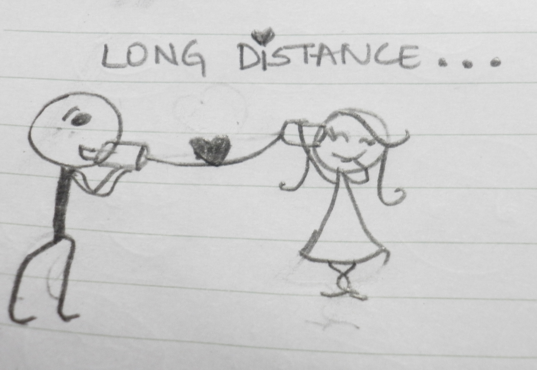 What is considered long distance dating