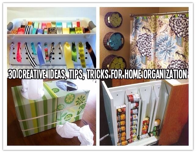 30 creative ideas tips tricks for home organization