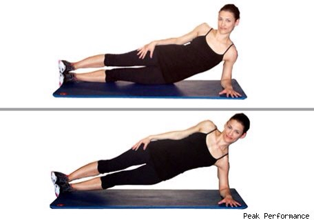 abs of steel core workout circuit blasts fat for flat