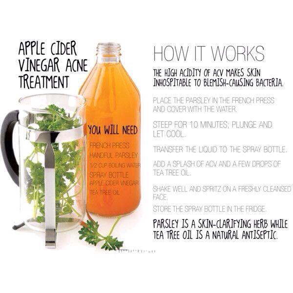 Apple Cider Vinegar Acne Treatment | Trusper