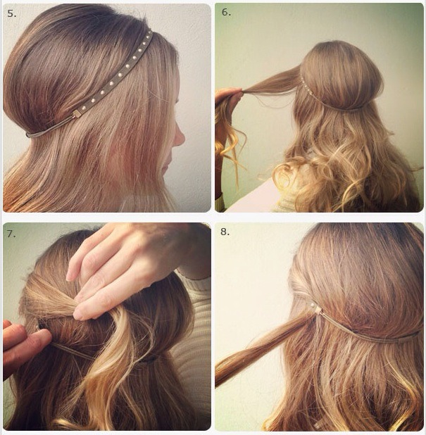 easy haircuts for really simple hair style quot the twisted hairband 5894