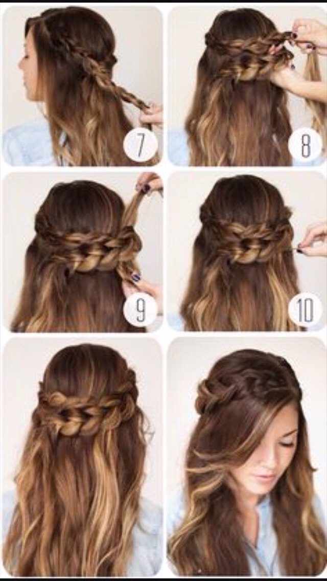 how to do hair style adorable cotton braid headband tutorial i 1628