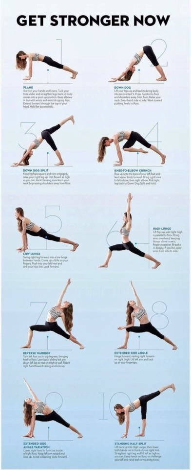 9 Yoga Poses That Will Help You Get In Shape
