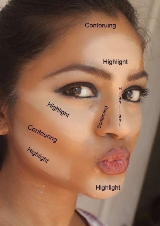 How To Put On Makeup Make Your Face Look Thinner