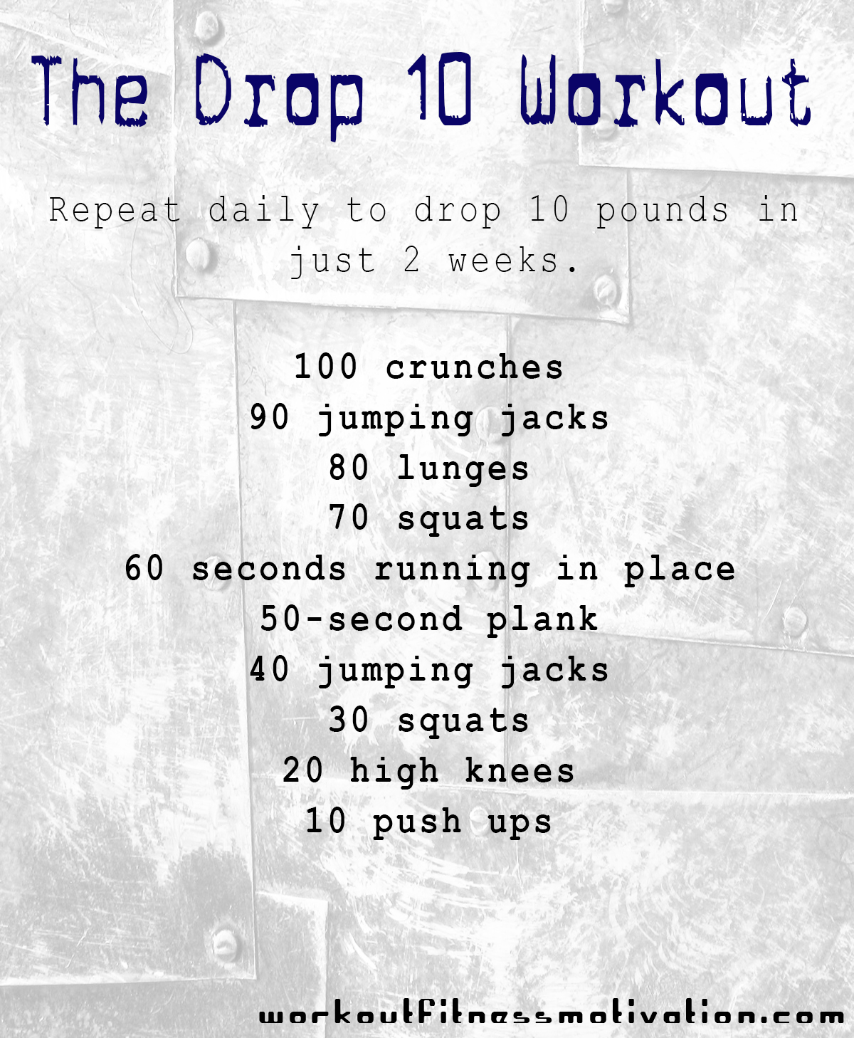 Workout Plan To Drop Weight Fast Krtsy