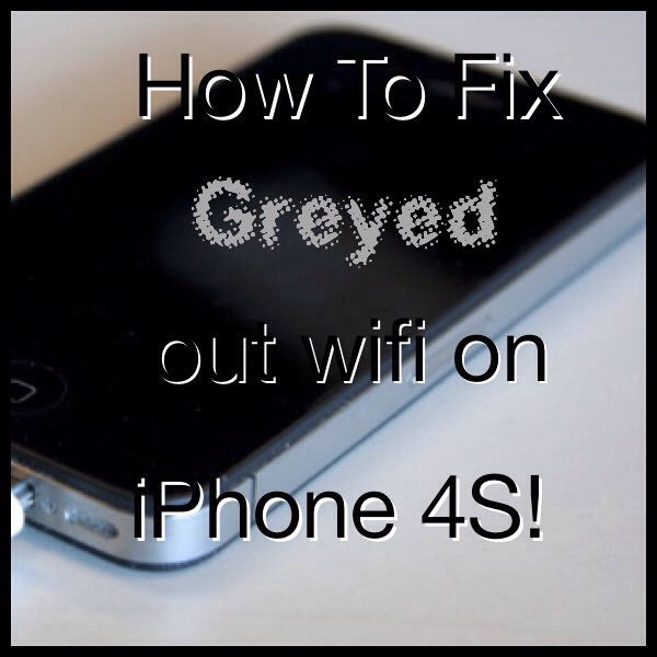 iphone 4s wifi greyed out how to fix greyed out wifi on iphone 4s trusper 7096